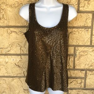 J Crew sequence tank top career Work Size M